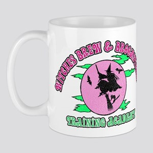 Witches Brew & Broom Mug