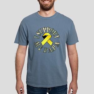 Papa Ribbon 4 Mens Comfort Colors Shirt