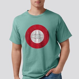 Malta Roundel Aged Mens Comfort Colors Shirt