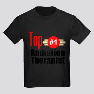 Top Radiation Therapist Kids Dark T-Shirt