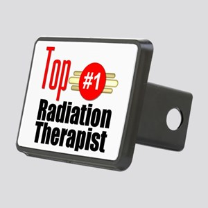 Top Radiation Therapist Rectangular Hitch Cover