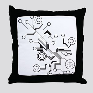 Circuit Throw Pillow