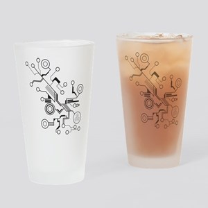 Circuit Drinking Glass