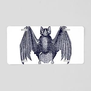 Bat Aluminum License Plate