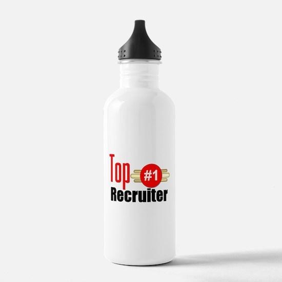 Top Recruiter Water Bottle