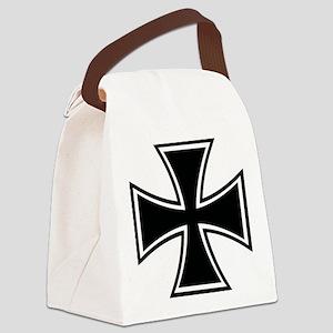 Biker Cross Canvas Lunch Bag