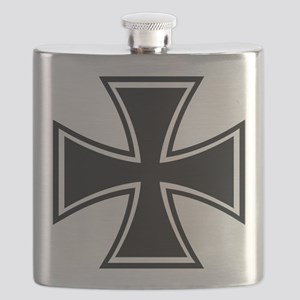 Biker Cross Flask