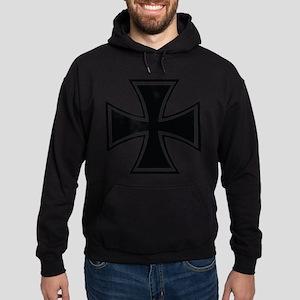 Biker Cross Hoodie (dark)