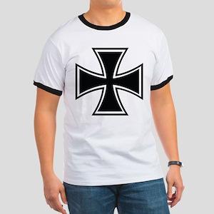 Biker Cross Ringer T