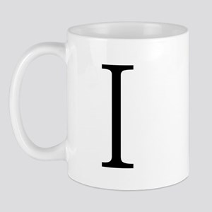 Greek Alphabet Iota Mug