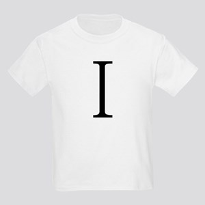 Greek Alphabet Iota Kids T-Shirt