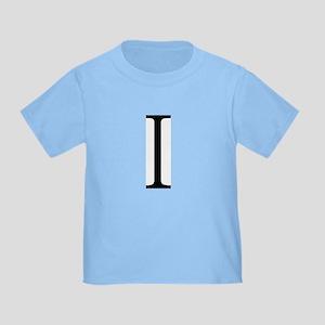 Greek Alphabet Iota Toddler T-Shirt