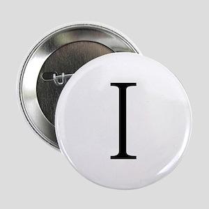 Greek Alphabet Iota Button