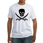 Pirate Fencer Fitted T-Shirt