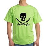 Pirate Fencer Green T-Shirt