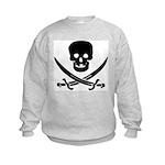 Pirate Fencer Kids Sweatshirt
