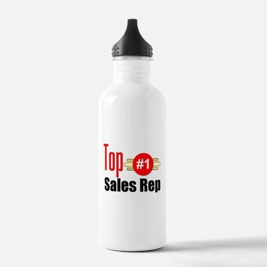 Top Sales Rep Water Bottle