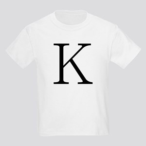 Greek Character Kappa Kids T-Shirt
