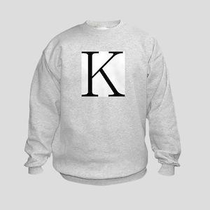 Greek Character Kappa Kids Sweatshirt