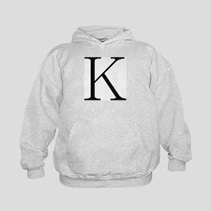 Greek Character Kappa Kids Hoodie