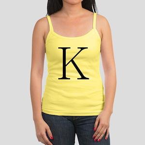Greek Character Kappa Jr. Spaghetti Tank
