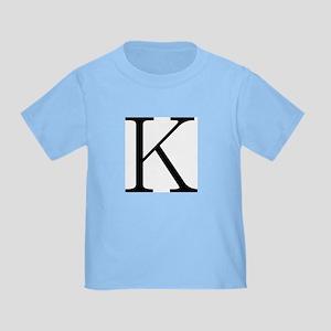 Greek Character Kappa Toddler T-Shirt