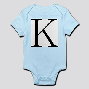 Greek Character Kappa Infant Bodysuit