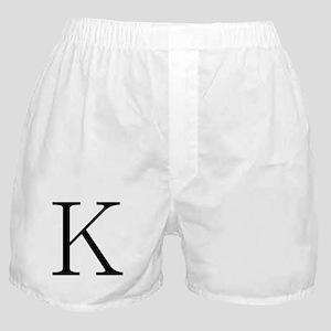 Greek Character Kappa Boxer Shorts