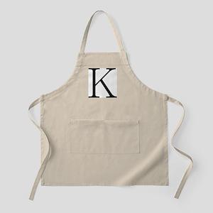 Greek Character Kappa BBQ Apron