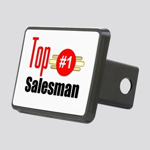 Top Salesman Rectangular Hitch Cover