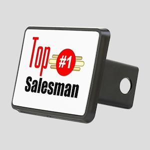 Top Salesman Rectangular Hitch Cover