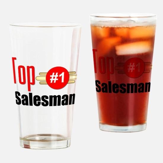 Top Salesman Drinking Glass