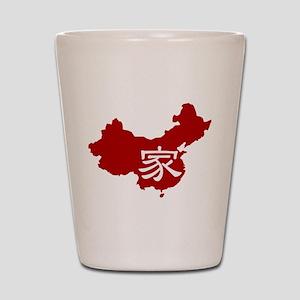 Red Jia Shot Glass