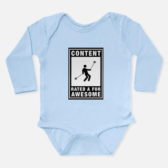 Yo-Yo Long Sleeve Infant Bodysuit