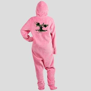 TCHEER5 Footed Pajamas