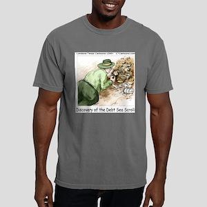 Debt Sea Scrolls Mens Comfort Colors Shirt