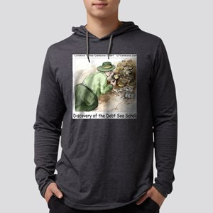 Debt Sea Scrolls Mens Hooded Shirt