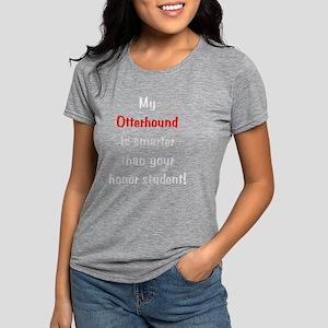 otterhoundsmarter10-t Womens Tri-blend T-Shirt