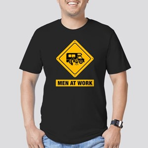 RV Men's Fitted T-Shirt (dark)
