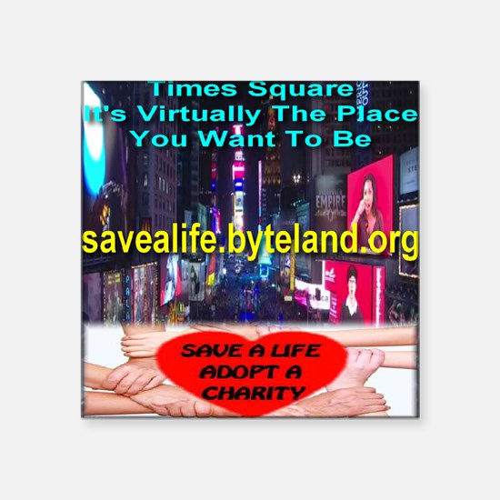 Save A Life Adopt A Charity Times Square Square St