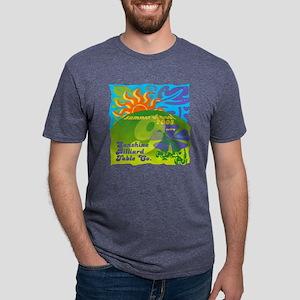 Summer of PoolAged Mens Tri-blend T-Shirt