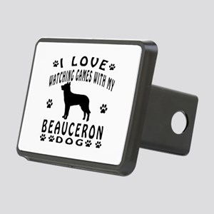 Beauceron Rectangular Hitch Cover