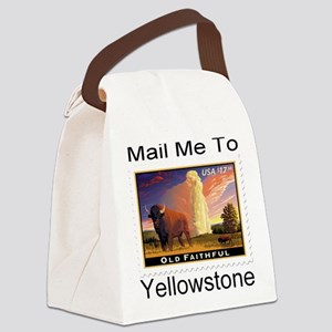 mailmeto_yellowstone Canvas Lunch Bag