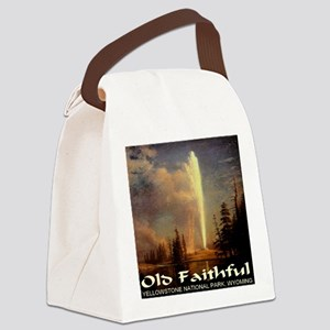 old_faithful1024x1024 Canvas Lunch Bag
