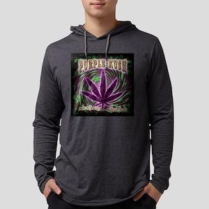 purple kush-fade2 Mens Hooded Shirt