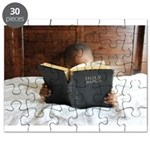 Boy With The Bible Puzzle