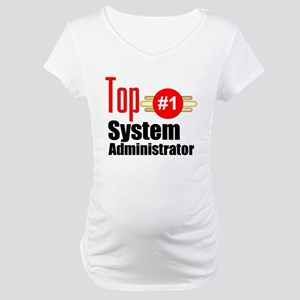 Top Systems Administrator Maternity T-Shirt