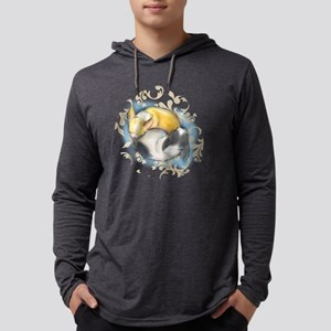 Sleeping Chihuahuas ByCatiaCho Mens Hooded Shirt