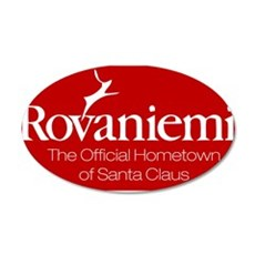 Rovaniemi, home of Santa Wall Decal