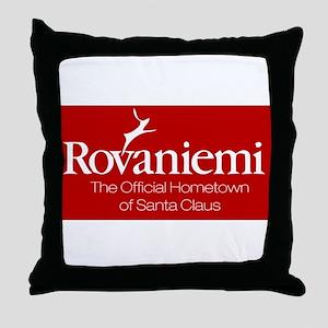 Rovaniemi, home of Santa Throw Pillow